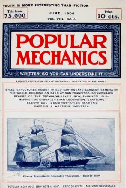 Popular Mechanics - June, 1906