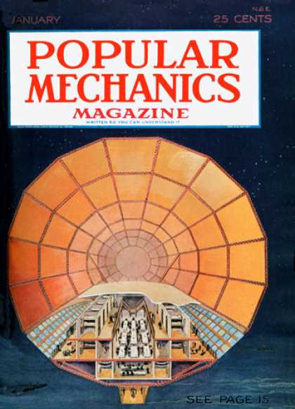 Popular Mechanics - January, 1929