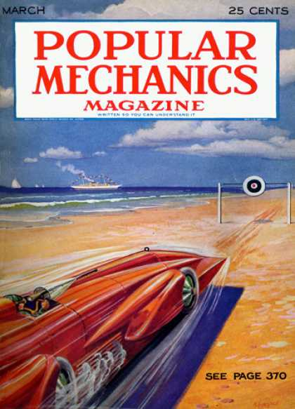 Popular Mechanics - March, 1929
