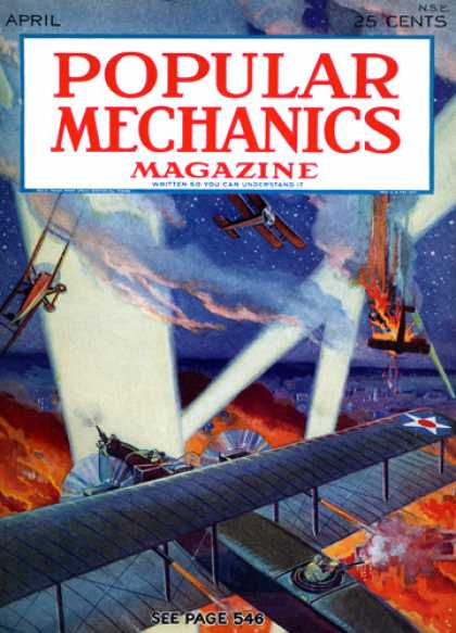 Popular Mechanics - April, 1929