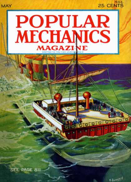 Popular Mechanics - May, 1929
