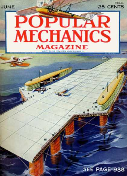 Popular Mechanics - June, 1929