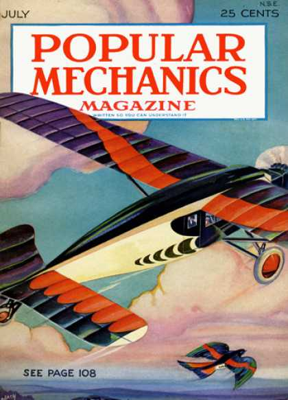 Popular Mechanics - July, 1929