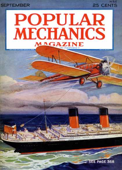 Popular Mechanics - September, 1929