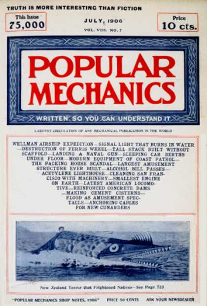 Popular Mechanics - July, 1906