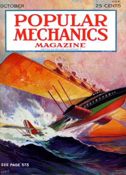Popular Mechanics - October, 1929