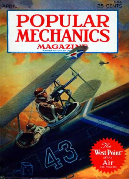 Popular Mechanics - April, 1930