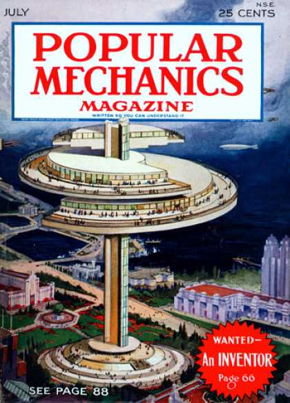 Popular Mechanics - July, 1930