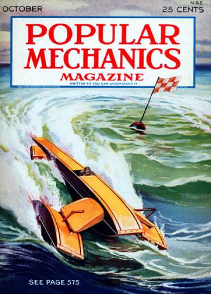 Popular Mechanics - October, 1930