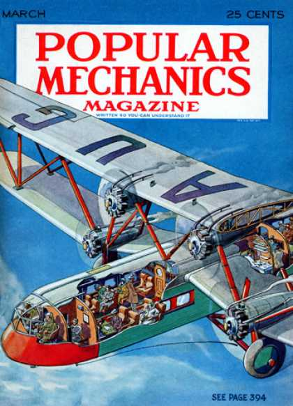 Popular Mechanics - March, 1931