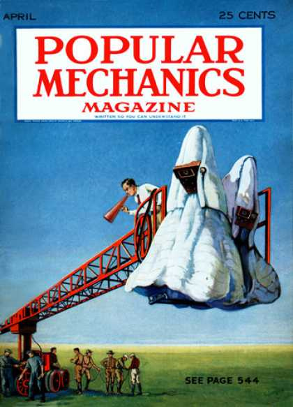 Popular Mechanics - April, 1931
