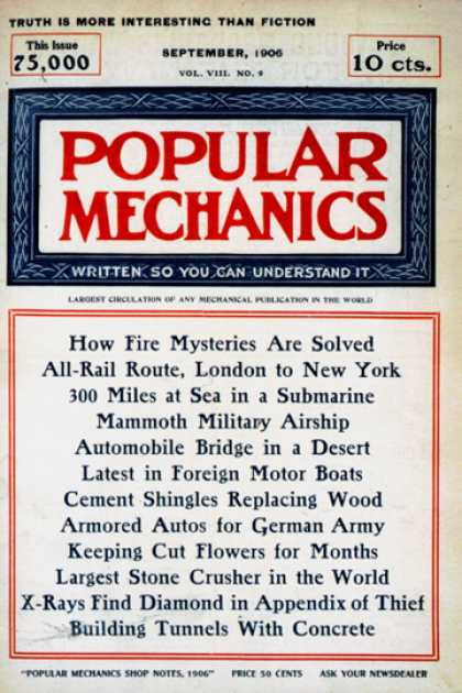 Popular Mechanics - September, 1906