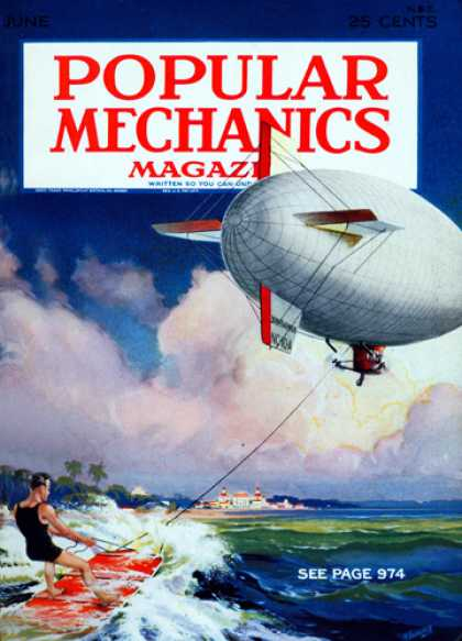 Popular Mechanics - June, 1931