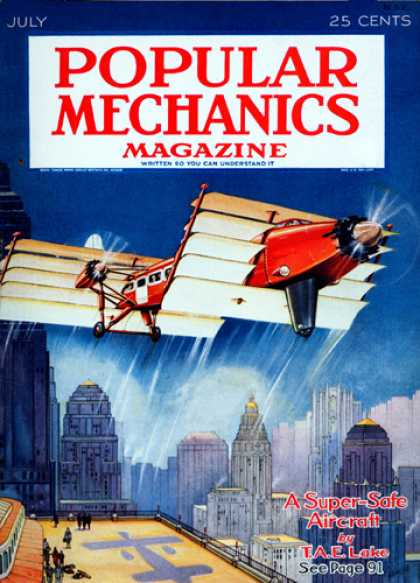 Popular Mechanics - July, 1931
