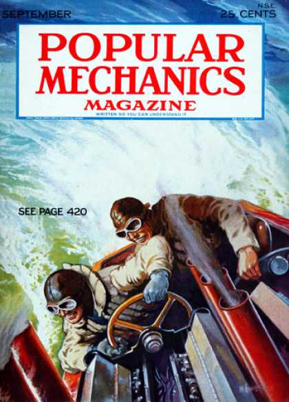 Popular Mechanics - September, 1931