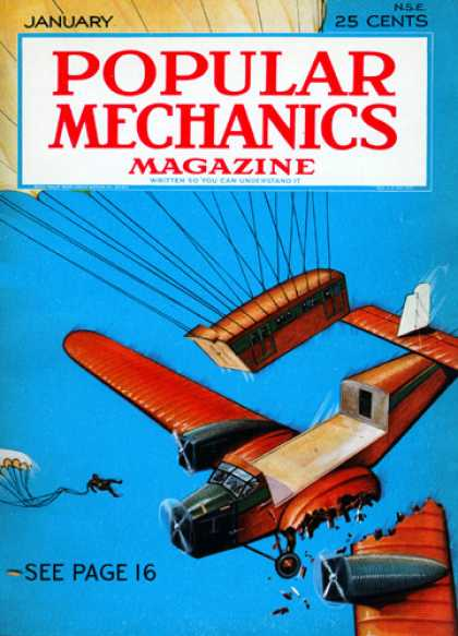Popular Mechanics - January, 1932