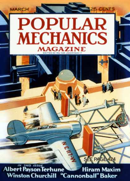 Popular Mechanics - March, 1932