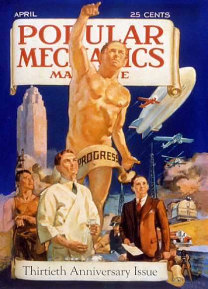 Popular Mechanics - April, 1932