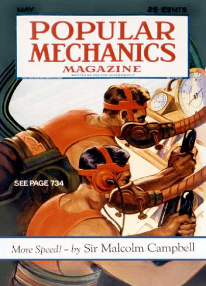 Popular Mechanics - May, 1932