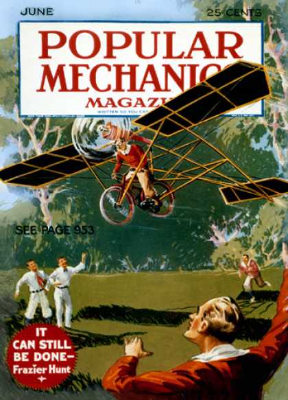 Popular Mechanics - June, 1932