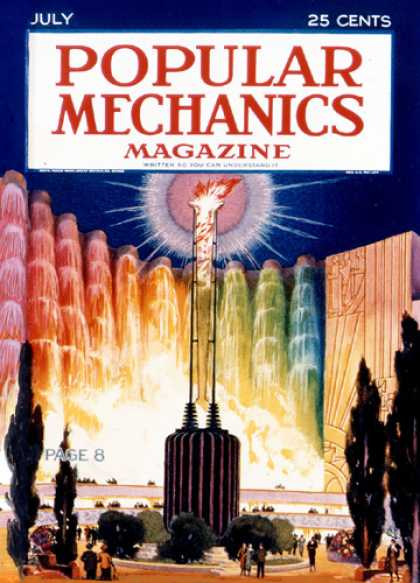 Popular Mechanics - July, 1932