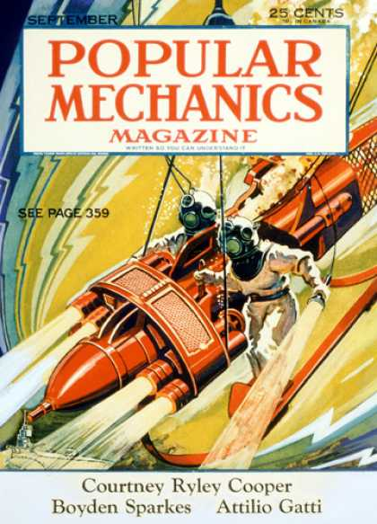 Popular Mechanics - September, 1932