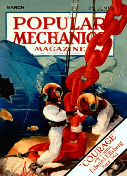 Popular Mechanics - March, 1933