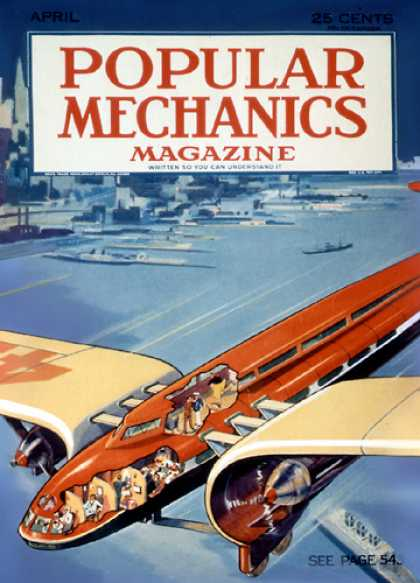 Popular Mechanics - April, 1933