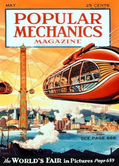 Popular Mechanics - May, 1933