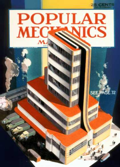 Popular Mechanics - July, 1933