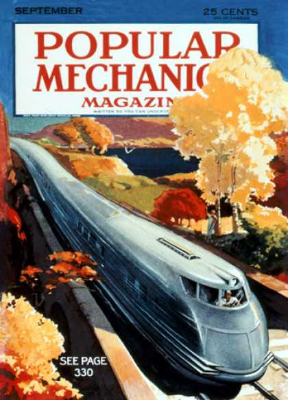 Popular Mechanics - September, 1933