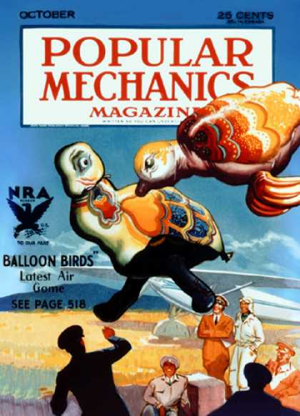 Popular Mechanics - October, 1933