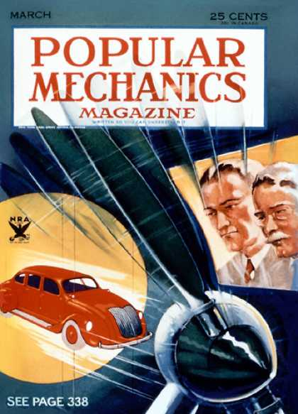 Popular Mechanics - March, 1934