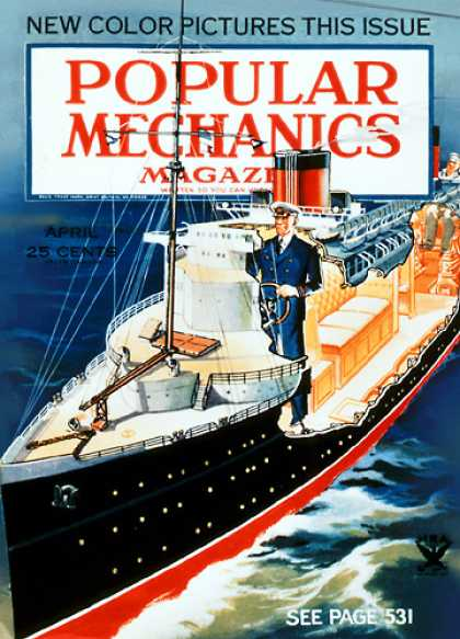Popular Mechanics - April, 1934