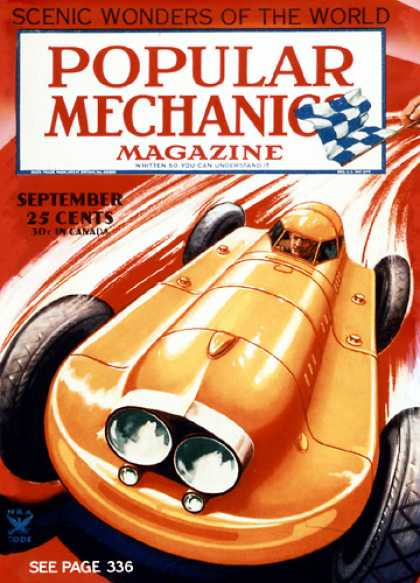 Popular Mechanics - September, 1934