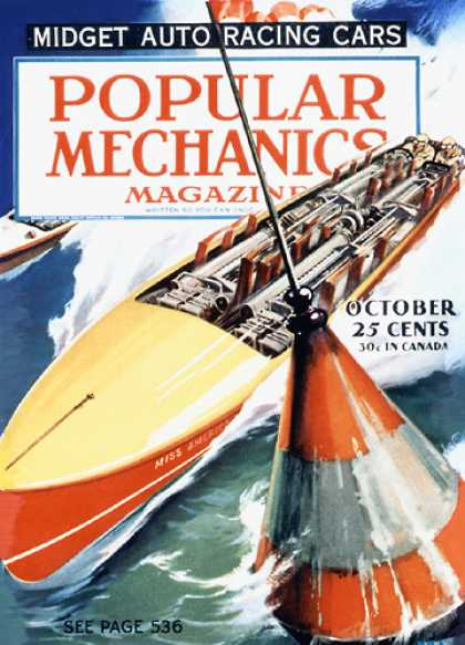 Popular Mechanics - October, 1934