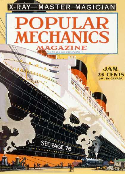 Popular Mechanics - January, 1935