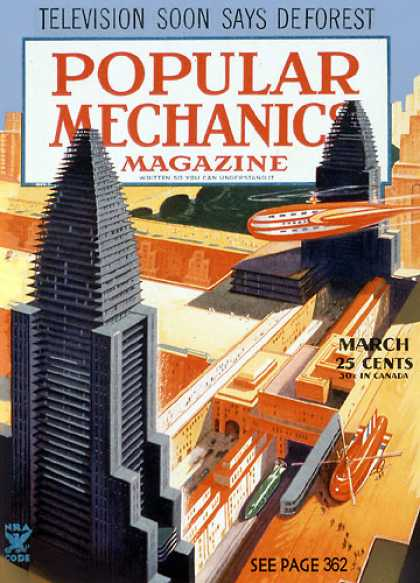 Popular Mechanics - March, 1935