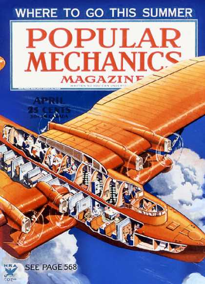 Popular Mechanics - April, 1935