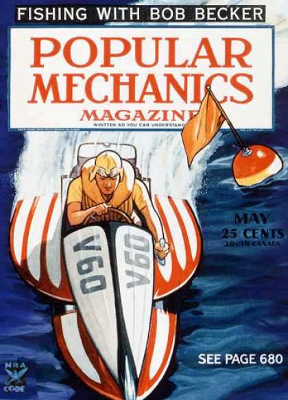 Popular Mechanics - May, 1935