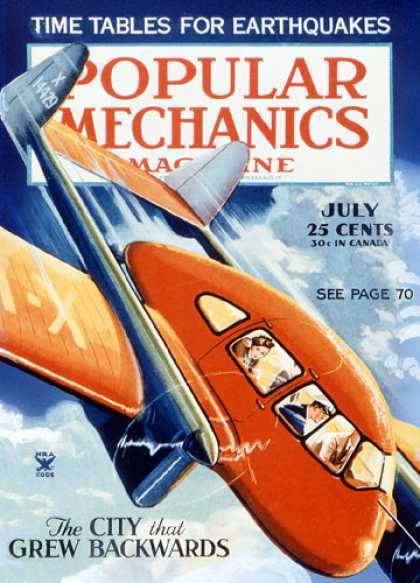 Popular Mechanics - July, 1935