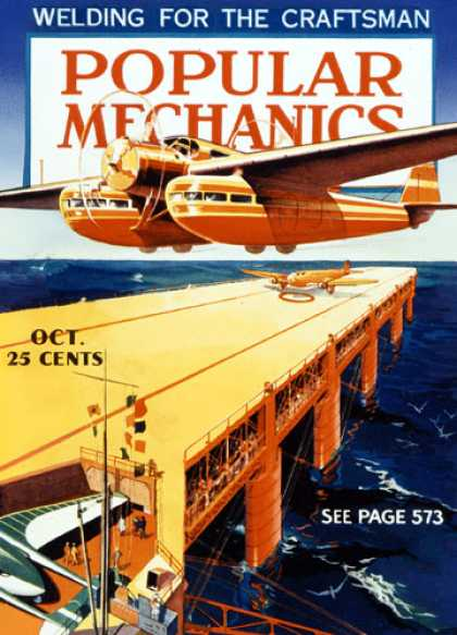 Popular Mechanics - October, 1935