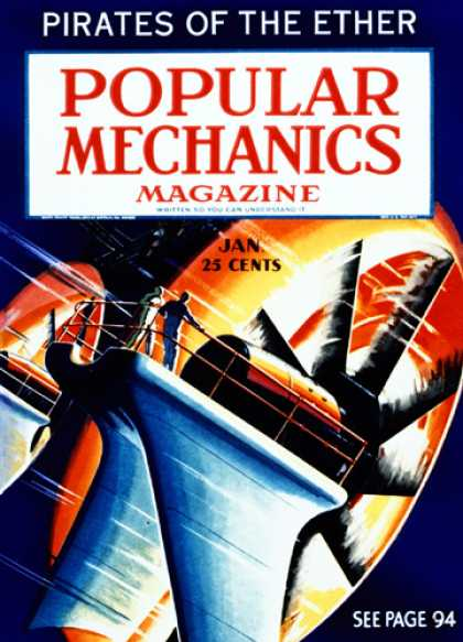 Popular Mechanics - January, 1936