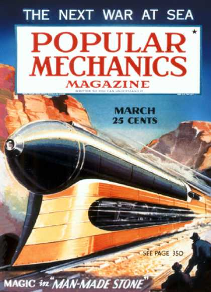 Popular Mechanics - March, 1936