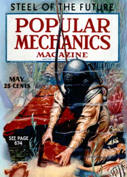 Popular Mechanics - May, 1936