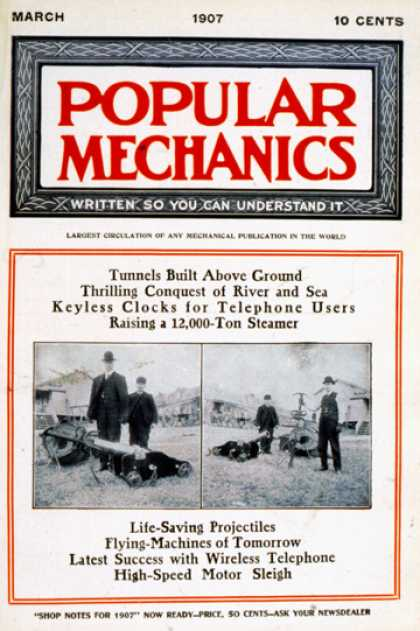 Popular Mechanics - March, 1907