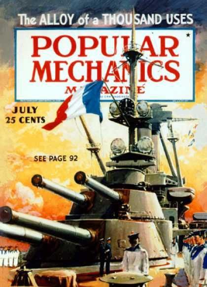 Popular Mechanics - July, 1936