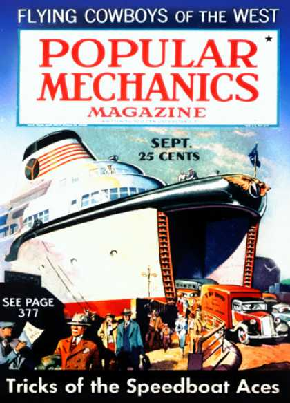 Popular Mechanics - September, 1936