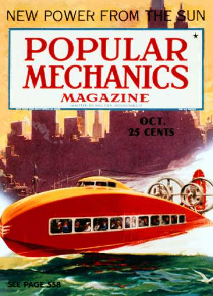Popular Mechanics - October, 1936