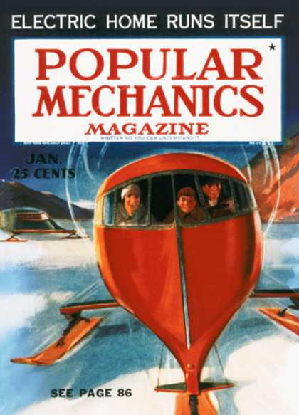 Popular Mechanics - January, 1937